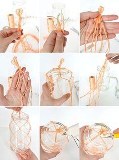 Macrame Eye Candy designrulz 5 DIY Macramé Plant Hanger Ideas That Will Beautify Your Home