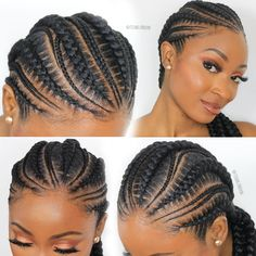 Easy And Cheap Cool Tips: Wedding Hairstyles Waves twist braided hairstyles.Brai… Easy And Cheap Cool Tips: Wedding Hairstyles Waves twist braided hairstyles. Latest Braided Hairstyles, Feed In Braids Hairstyles, Twist Braid Hairstyles, Twist Braids, African Hairstyles, Girl Hairstyles, Wedding Hairstyles, Braids Cornrows, Black Hairstyles