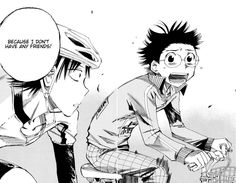 """YowaPeda ~~ """"Because I don't have any friends."""" :: When he confessed this, Onoda broke my heart."""