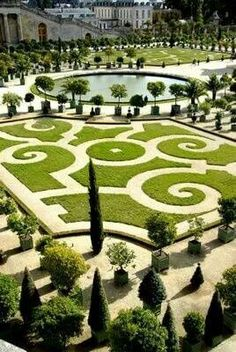 Garden at Versailles Palace