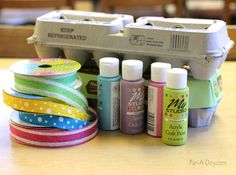 Homemade Easter baskets kids can make with recycled materials