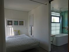 living spaces made from recycled shipping containers