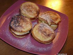 recept na lievance s pochutkovej smotany 11 Pancakes, Breakfast, Food, Crepes, Griddle Cakes, Hoods, Meals