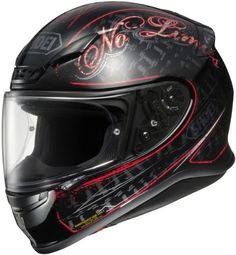Shoei Rf-1200 Inception Tc-1 SIZE:SML Full Face Motorcycle Helmet