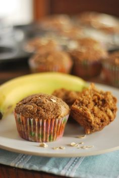 Healthy Banana Coconut Muffins - This is one of my favorite and easiest muffin recipes.