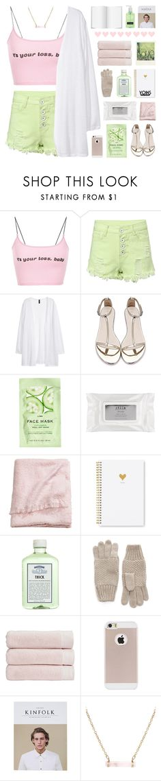 """""""But Baby Running After You Is Like Chasing The Coulds - Yoins 18"""" by paradiselemonade ❤ liked on Polyvore featuring H&M, Stila, Sugar Paper, John Allan's, Christy, Polaroid, simple, organize, yoins and yoinscollection"""