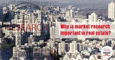 Like any other #industry, market research is also an important component of #RealEstate. Read the full story here- http://www.investors-clinic.com/blog/why-is-market-research-important-in-real-estate/