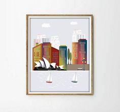 SidneyAustralialaminas Sidney Poster sidneylaminas