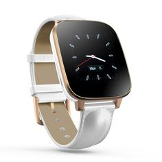 Bluetooth 4.0 Smart Watch - iOS + Android App, Call Answering, Notification, Heart Rate Sensor, Pedometer