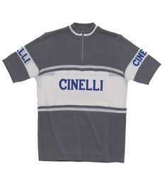 Authorized replica of the first Cinelli cycling jersey made for the USA  market in Made of Merino wool blend for classic performance and easy care ee889fb7a
