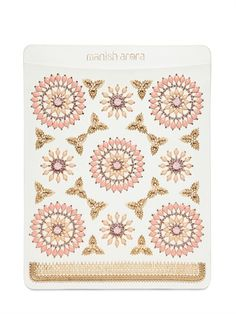MANISH ARORA - INDIAN EMBROIDERY LEATHER IPAD CASE