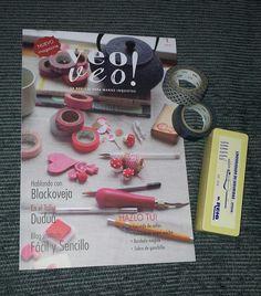 Twitter / Photo by @Silvyamiga #veoveomagazine #revista #magazine #handmade