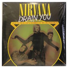 #Nirvana ‎– #DrainYou (#Live At The Pier 48, #Seattle December 13th, #1993 - #Westwood One FM) - #vinil #vinilrecords #music #rock