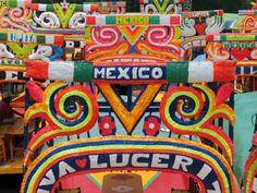 Xochimilco. [ MexicanConnexionForTile.com ] #culture #Talavera #handmade
