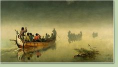 Canoes_in_a_fog,_Lake_Superior