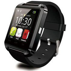 DGZ Bluetooth Smart Watch WristWatch WU8  Watch for Samsung  HTC LG Huawei Xiaomi Android Phone Smartphones – USD $ 19.99