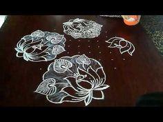 Lotus Rangoli, Peacock Rangoli, Indian Rangoli Designs, Beautiful Rangoli Designs, Rangoli Patterns, Sea Pearls, Make It Yourself, Country, Creative