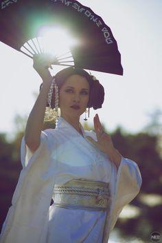 Geisha Princess Leia - Original #cosplay by Hendo Art / Photo: Nelsphotos https://flic.kr/p/AM6uB6