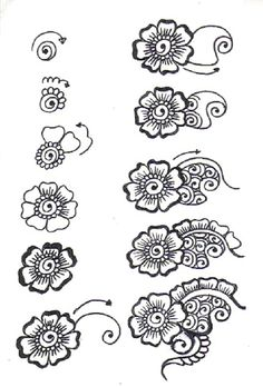 flowers #zentangle #zentangles