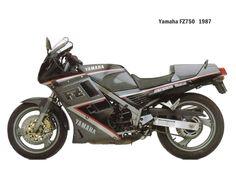 1987 Yamaha FZ750 #Motorcycle #Sportsbike #Yamaha