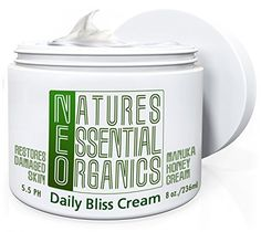 Sun Damaged Sensitive Skin Can Be Repaired & Restored with This Organic Anti-aging Moisturizer Cream Which Uses the Secret Healing Properties of Manuka Honey, Biotin, Aloe Vera, Shea Butter, & Cocoa Butter While Being Fragrance & Cruelty Free. Love and Get Comfortable in Your Skin Today! (8 Ounce), http://www.amazon.com/dp/B00X8TJE5W/ref=cm_sw_r_pi_awdm_cLfFvb1VYQ2Y3