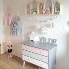 Zoete babykleuren voor een prachtige kamer.