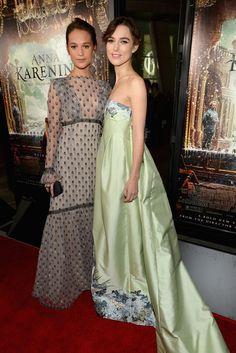 "Alicia Vikander Photos - Premiere Of Focus Features' ""Anna Karenina"" - Red Carpet - Zimbio"