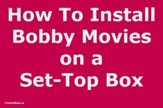 Bobby Movie Box originally released it''''s Android version!  Bobby Movie Box app for the Android  Lets you watch movies and TV shows for free.  It offers a massive collection of movies and TV series  Newest movies and shows. It features HD video streams and simple  browsing and searching to find the perfect movie or show for you to watch. #tvbox #tv #technology #streaming #streamingtv #streamingbox #android #iptv #kodi #streamingmediaplayer #smarttvbox #set-topbox #canada #usa