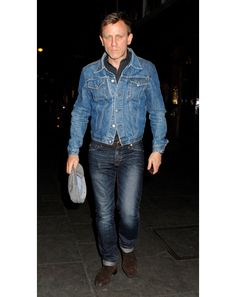 Daniel Craig in London.