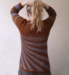 Ravelry: Stripes gone crazy pattern by atelier alfa (Back)