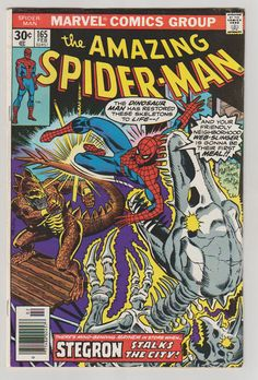 Amazing Spider-Man V1 165 Comic Book. VF. by RubbersuitStudios #spiderman #comicbooks