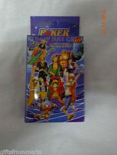 One Piece Poker Cards. Anime japan nami sanji luffy ace zorro