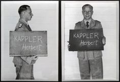 Herbert Kappler was the  SS SD chief in Rome during WW2. A war criminal, he was sentenced to life in prison by an Italian court. In 1977, suffering from terminal cancer, he was smuggled out of hospital by his wife in a large suitcase. He was smuggled into West Germany and died the following year, aged 70.