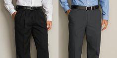 Pleated Pants Vs. Flat Front Pants