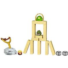 Angry Birds SW Jenga Tattooine battle game