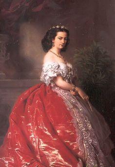 Page: Princess Mathilde Bonaparte Artist: Franz Xaver Winterhalter Style: Neo-Rococo Genre: portrait Tags: famous-people, female-portraits, ...