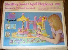 REMCO: 1971 Strolling SWEET APRIL Musical Playland