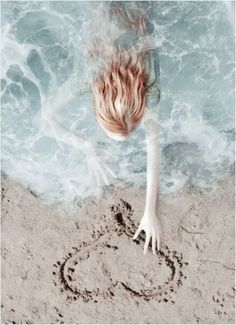 She loves the sea. Aragon, Summer Vibes, Summer Fun, Mermaid Cove, Everything Is Blue, Mermaid Kisses, Light Mint Green, Water Me, Water Photography