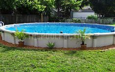 Having a pool sounds awesome especially if you are working with the best backyard pool landscaping ideas there is. How you design a proper backyard with a pool matters. Above Ground Pool Landscaping, Backyard Pool Landscaping, Modern Landscaping, Landscaping Plants, Front Yard Landscaping, Landscaping Ideas, Backyard Ideas, Best Above Ground Pool, In Ground Pools