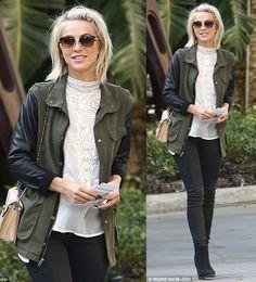 Gorgeous - Julianne Hough - love the hair, so cute! Mod Fashion, Fashion Beauty, Womens Fashion, Facon, Thing 1, Julianne Hough, Everyday Fashion, Style Guides, Autumn Winter Fashion
