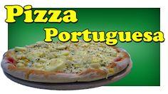 Adenilson Pizzaiolo: Pizza portuguesa