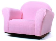 Your kids will love having their own rocking chair. The Fantasy Furniture Roundy Rocking Chair is ideal for watching TV, reading or just relaxing. Several colors available. Fantasy Furniture Roundy Rocking Chair Gingham, Pink