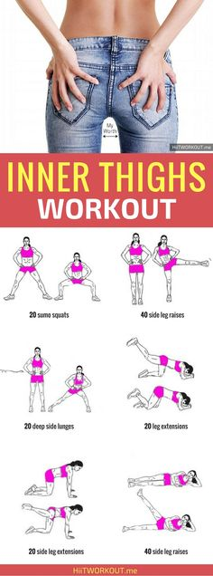 These exercises go beyond traditional leg lifts to slim and shape your inner thighs from every angle.