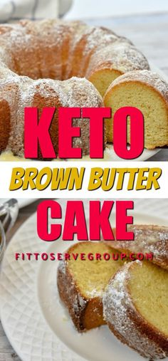 It's a recipe for keto brown butter cake. If you're a fan of butter then you'll … Es ist ein Rezept für Keto Brown Butterkuchen. Keto Friendly Desserts, Low Carb Desserts, Low Carb Recipes, Dessert Recipes, Dessert Ideas, Cupcake Ideas, Cupcake Recipes, Lunch Recipes, Diabetic Friendly