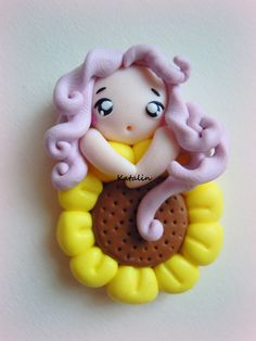 Entirely handmade with polymer clay (FIMO). By Katalin Handmade (2012)