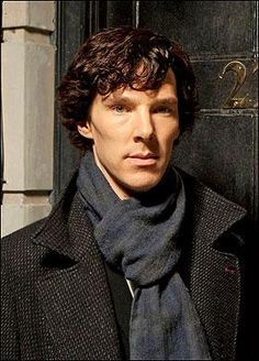 Benedict Cumberbatch as Sherlock Holmes---Such a quirky performance and interpretation.