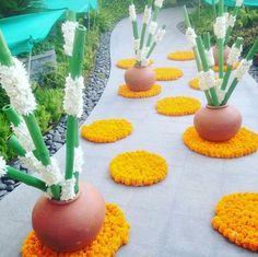Diwali Decorations At Home, Stage Decorations, Indian Wedding Decorations, Festival Decorations, Flower Decorations, Mehndi Decor, Mehendi, Ganapati Decoration, Rangoli Ideas