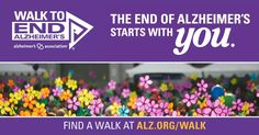 Support Christina by joining or donating on their behalf for Walk to End Alzheimer's!