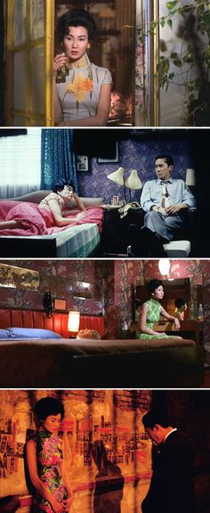 maggie cheung as li-zhen and tony leung as chow mo-wan in the mood for love wong kar-wai Maggie Cheung, Cinematic Photography, Film Photography, Photography Lighting, Vampire Weekend, Design Set, Good Movies, Great Films, Cinema Video