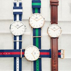 With faces like these how could we not fall in love with Daniel Wellington?